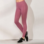 Women's Yoga Seamless Leggings High Waisted Pink Workout Bottoms