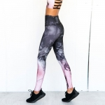 Women's Workout Suit Yoga Leggings With Sports Padded Cropped Tank [20190506-1]