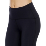 Women's Bootcut Yoga Pants With Pocket Navy High Waisted Leggings [20180907-5]
