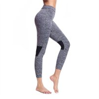 Women's Workout Pants Tights Grey High Waisted Gym Yoga Leggings