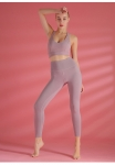 Women's Pink Fashion Exercise Leggings [20210324-1]
