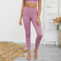 Women's Quick Dry Yoga Leggings Violet Workout Pants