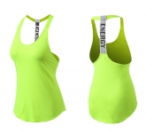 Women's Yoga Tank Tops Green Quick Dry Fitness Gym Workout Vest [20180922-5]