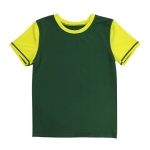 Youth/Kids' Soccer Jersey Olive Short Sleeve Shirt [20201204-4]