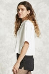 2018 Women's Summer T-shirt White Sweater With Hood [20180327-23]
