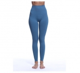 Women's High Waisted Yoga Pants Quick Dry Tights Blue Workout Leggings [20181124-4]