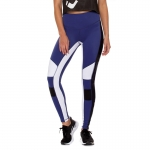 Women's Workout Tights Blue Yoga Leggings Athletic Pants [20190105-3]