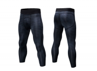 Men's Workout Pants Tights Gym Black Compression Capri Pants Sports Leggings [20181023-4]