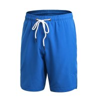 Basketball Shorts Blue With Pockets Men's