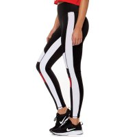 Women's Workout Tights Black Yoga Leggings Athletic Pants