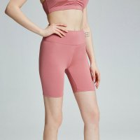 Pink Athletic Shorts 7 Inch Inseam Women's