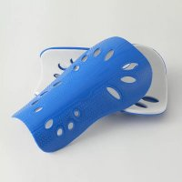Soccer Shin Guards Adult Blue Protection 1 Pair