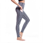 Women's Workout Pants With Pockets Grey High Waisted Yoga Leggings