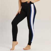 Women's Sports Tights Winter Blue Thermal Workout Leggings