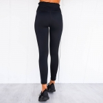 Women's Cute Workout Pants Black And Padded Yoga Bra Outfit [20190601-1]