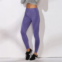 Women's High Waisted Yoga Leggings Gym Violet Workout Pants