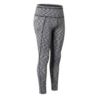 Women's High Waisted Workout Leggings With Pockets Gray Gym Yoga Pants