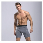 Men's Workout Shorts 7 inch inseam Grey Quick Dry Gym Shorts