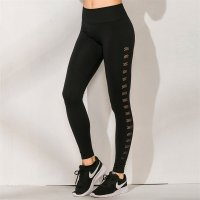 Women's Seamless Leggings Workout Black Yoga Fitness Tights