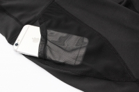 Black Workout Shorts With Phone Pockets Women's [20210101-1]