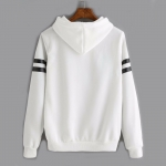 Women's Pullover Hoodies Fashion White Alphabet Printed Sweatshirts [20180818-1]