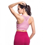 Women's Best Sports Bras For Running High Impact White Wireless Bras [20181112-1]