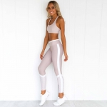 Women's Athletic Clothes Pink Fitness Wear Yoga Uniform