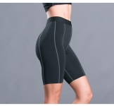 Women's Yoga Shorts Running Black 7 Inch Inseam Biker Shorts Workout Leggings [20181009-5]