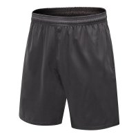 Grey Basketball Shorts With Deep Pockets Men's