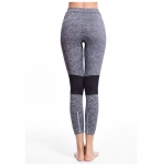 Women's Workout Pants Tights Grey High Waisted Gym Yoga Leggings [20181120-1]