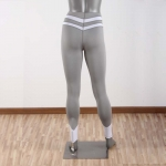 Women's Running Tights Sexy Grey Yoga Pants Workout Leggings [20190215-4]